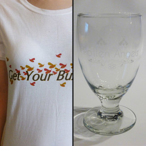 T-Shirt and Glass Set